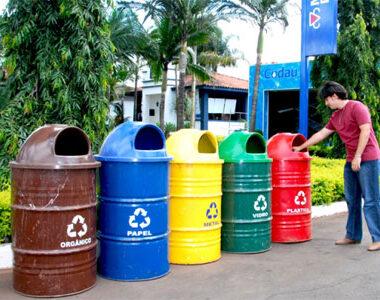 Saiba sobre o padrão de cores para os resíduos