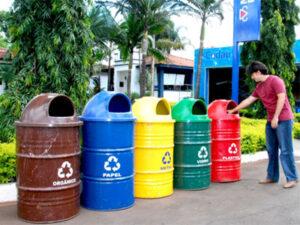 A separação correta dos resíduos é importante para todo o processo ambiental