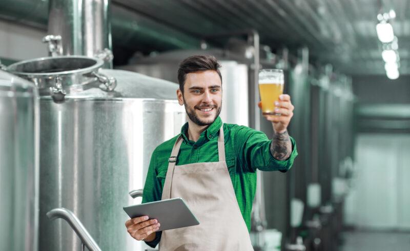 foto setor de cervejarias