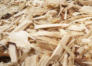 Restos de madeira